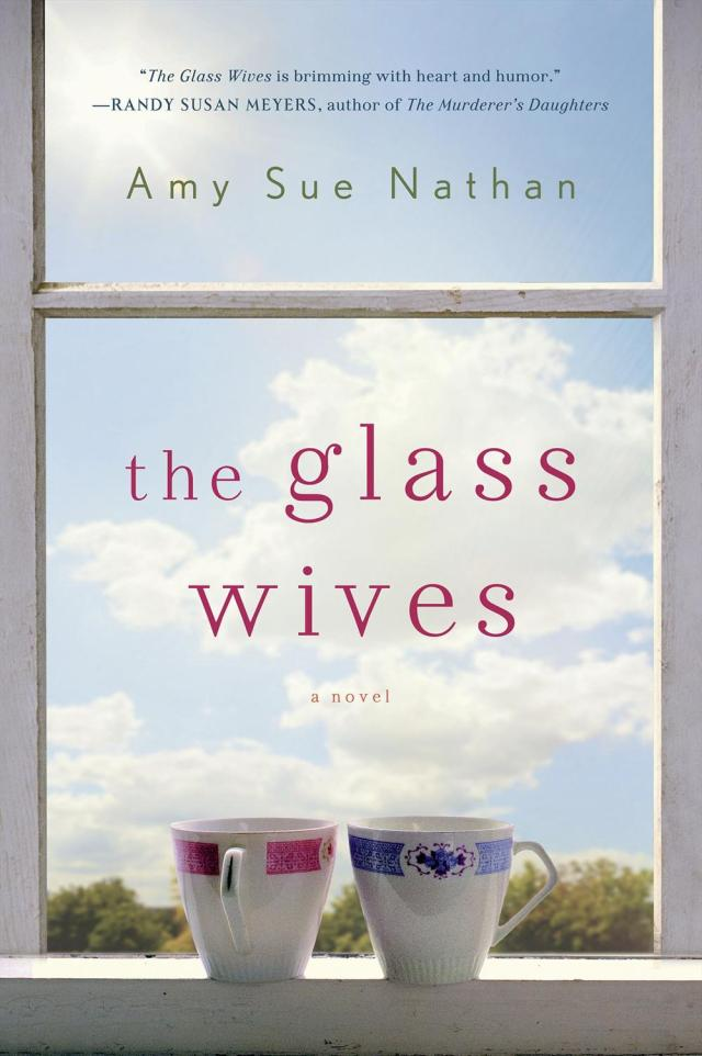 Pink/pink, blue/pink, or pink/blue. I think it's  the perfect cover for The Glass Wives.  Hope you agree! (If you've read it, or when you do, chime in!)