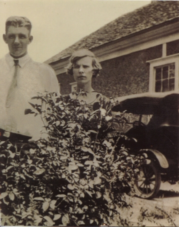 1925—Ann Hite's grandmother and grandfather at ages 15 and 16