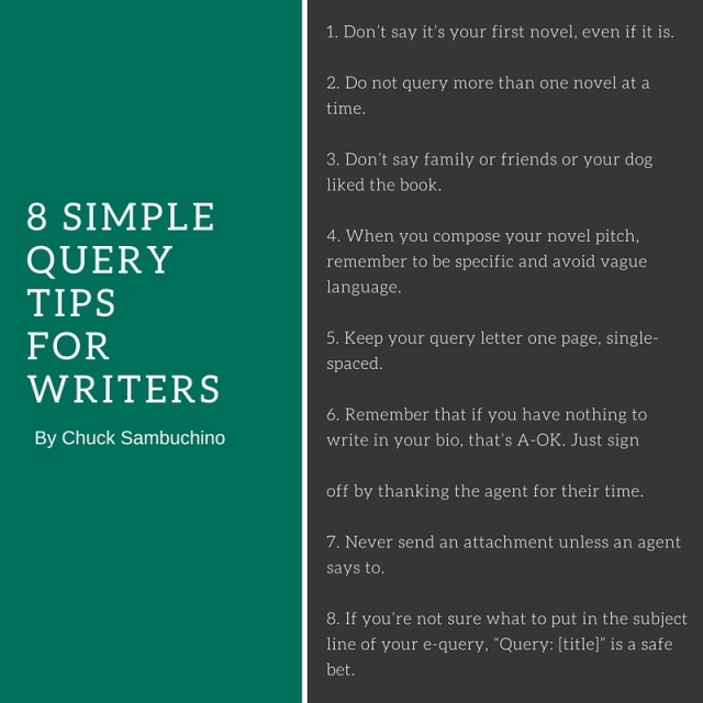 8 SIMPLE QUERY TIPSFOR WRITERS